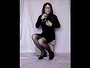 Lawinia Cd In Black Mini-Dress