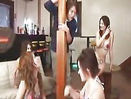 Indecent Gangbang Cream Pie In The Gal Who Resort