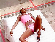 Darksome Slut Likes The Ball Batter Of Over Thirty Boy-Friends -