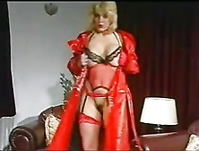 Louise Leeds Red Lingerie