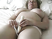 My Plump Wife With Saggy Breasts Loves Masturbating In Front Of