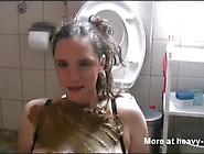 Human Toilet Scat Hand Job