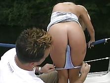 Natural Beauty Sandra Russo Fucked Bad In Threesome On A Boat