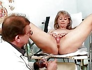 Hot Blonde Milf Gets Her Pussy Abused In The Hospital