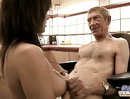 Old Young Teen Hairy Pussy Fucked By Old Man She Rubs Dick Swall