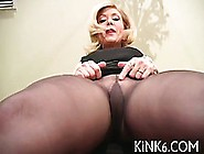 Caramel Honey In Pantyhose