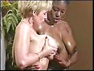 Ebony Ayes And Danni Ashe &#8211; Wrestling