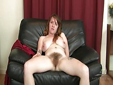 Very Hairy Legs And Pussy On Solo Milf