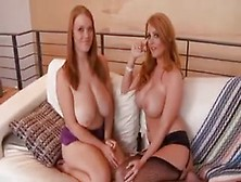 Sophie Dee And Friend In A Ffmblowjob
