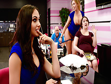 Ariana Marie & Britney Amber & Johnny Sins In Getting Their Own