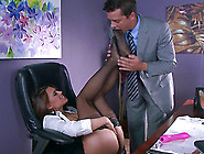 Milf Masturbating At Work Wants To Fuck A Big Dick Instead