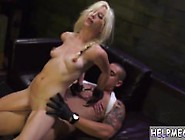 Sexy Teen Rides Huge Dildo And Young Teen Braces And Two Mistres