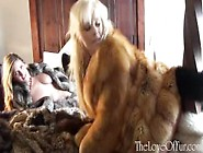 First Fur Meeting Starring Leona Lee And Syren Sexton