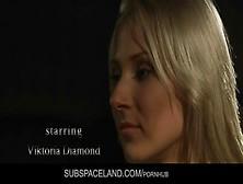 Bondaged Viktoria Spanked Hard To Open Legs And Mouth