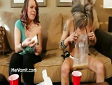 Girls Ipecac Challenge Vomit Puke Puking Vomiting