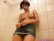 Sextractive Chick With Puffy Nipples Stimulates Her Pussy In Sho