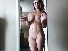 Dazzling Blonde Mom Reveals Her Magnificent Tits And Ass On