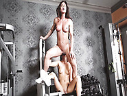 Fbbb Mom Nina Dolci Has Her Big Clit Licked By Fit Lesbian Chick