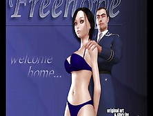 3D Comic: Freehope.  Episode 1