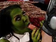 Chyna As The Hulk