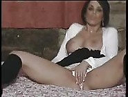 Horny Milf By The Bed