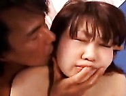 Buxom Asian Slut Takes A Dick In Her Mouth Before It Drills