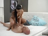 Old Loves Young Threesome Hot Hump After A Steaming Bath