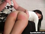 Hot Milf Spanks Her Step Daughters