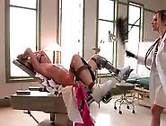 Nasty Nurse Maitresse Madeline Dominates Lewd Chick Mason