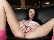 Sexy Toy Inserted In Her European Vagina