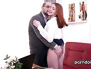 Fervid College Girl Gets Seduced And Poked By Elder Schoolte