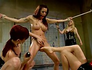 Pain Pleasure Lesbo Gang Bang Involving Fist Fucking And Strapon