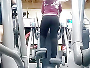 Very Fat Ass At The Gym Latin Milf