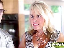 Tina Layne Shares A Cock And Its Cum With Stepmum Tia Layne