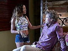 Sweet Anya Ivy Seduced By A Hot Guy For A Great Shag