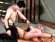 Slave Nipple Pinch And Gets Bdsm Punishment