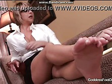 Brianna Beach Foot Joi Theraphy