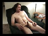 Old Mature Amateur Pete Beats Off His Old Dick