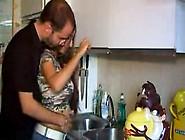 2010-01-04-Latina-Couple-Fucks-In-Kitchen--Amateur-Matue-Milf-Yo