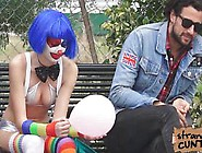Mikayla And Her Clown Face While Banging