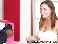 Teen Interracial Creamed Video