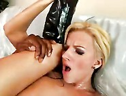 Sexy Milf In Boots Oiled Up And Filled With Bbc