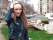 Hot Teen Seduced On The Street For A Rough Fuck