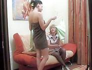 Lesbian Couple Teasing Each Other