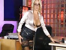 Dannii Harwood,  Secretary Style.