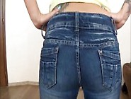 Sexy Girl Farts In Jeans