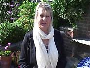 Big Breasted Amateur Granny Masturbate In The Garden
