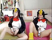 Teen Penguins On Cam