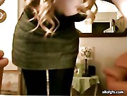 Sweet Brunette Teen Showing Off Her Tits On Webcam