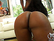 Sweet Ebony Bitch With Huge Ass Rides Massive Cock Of Her Bf Gre